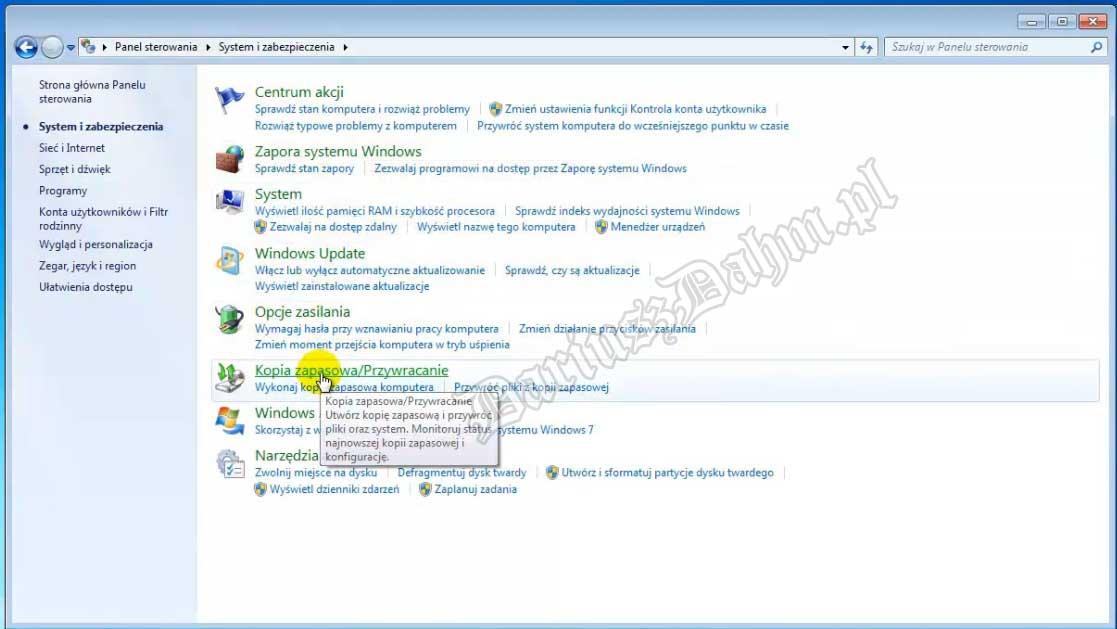 Wlasna partycja Recovery w Windows 7 oraz Windows 8 Dariusz Dahm