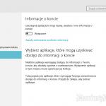 Prywatność w Windows 10
